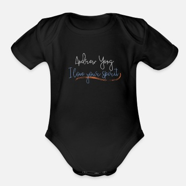 Candidacy Andrew Yang 2020 Presidential Election - Organic Short-Sleeved Baby Bodysuit