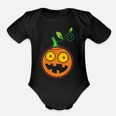 Pumpkin Pumpkin - Organic Short-Sleeved Baby Bodysuit