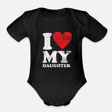 Daughter Daughter - Organic Short-Sleeved Baby Bodysuit