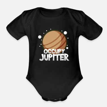 Occupy Occupy Jupiter - Organic Short Sleeve Baby Bodysuit
