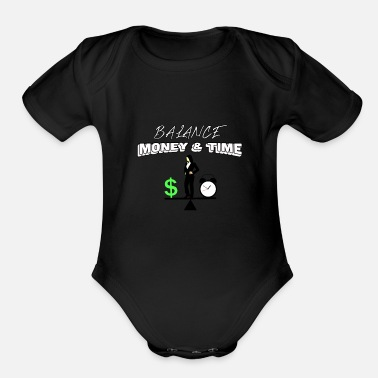 Wealth Wealth Wealth Wealth gift idea - Organic Short Sleeve Baby Bodysuit