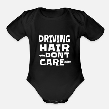Driving Driving - Organic Short-Sleeved Baby Bodysuit