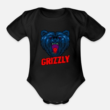 Study Live Bear Mammal Animal Science Cell Study Living Gift - Organic Short-Sleeved Baby Bodysuit