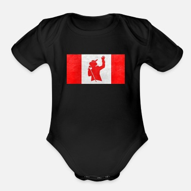 Hip gord downie - Organic Short-Sleeved Baby Bodysuit