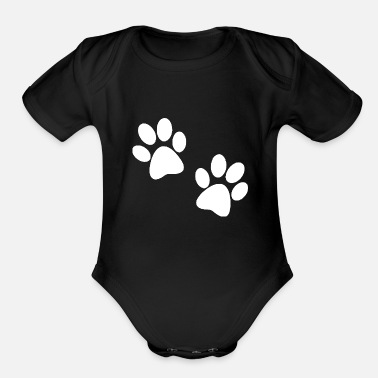Footer Footer 2 Dog Funny Crazy - Organic Short-Sleeved Baby Bodysuit