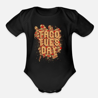 Taco Tuesday - Organic Short-Sleeved Baby Bodysuit