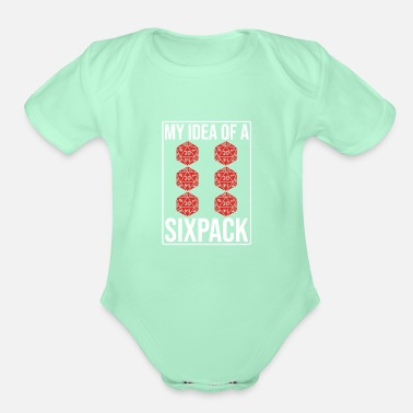Pen DND RPG Player Gift Idea - Organic Short-Sleeved Baby Bodysuit