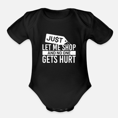 Shopping Shopping - Organic Short-Sleeved Baby Bodysuit