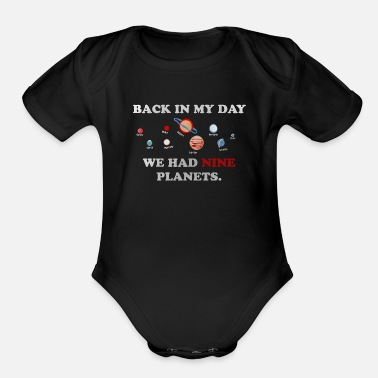 Planet PLANETS - Organic Short-Sleeved Baby Bodysuit