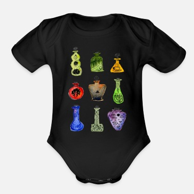 Witches Brew Witch Brew - Organic Short-Sleeved Baby Bodysuit