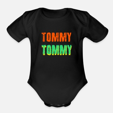 Tommy Tommy - Organic Short-Sleeved Baby Bodysuit