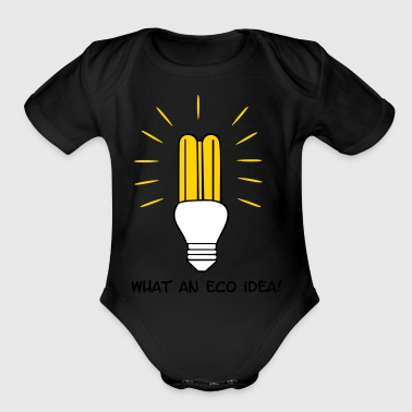 Eco Idea! - Organic Short Sleeve Baby Bodysuit
