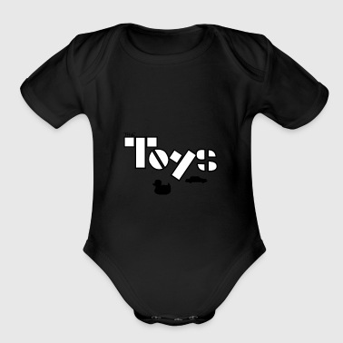 Toy The Toys - Organic Short Sleeve Baby Bodysuit