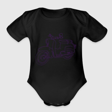 Scooter - Organic Short Sleeve Baby Bodysuit