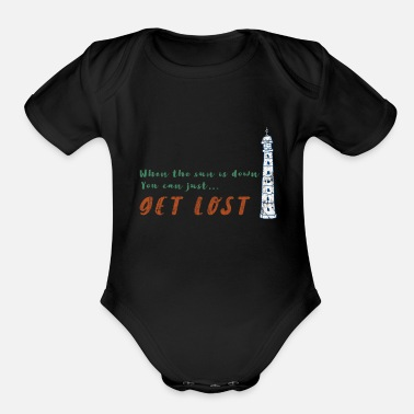 Sailboat Sailing - Organic Short Sleeve Baby Bodysuit