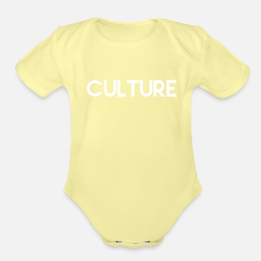 Education Culture CULTURE CULTIVATION PLANTATION EDUCATION GIFT - Organic Short-Sleeved Baby Bodysuit