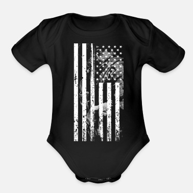 Army Sniper Legend of American Sniper - Organic Short-Sleeved Baby Bodysuit