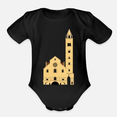Church church - Organic Short Sleeve Baby Bodysuit