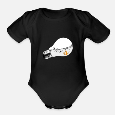 Aquarium Addiction Aquarium - Organic Short Sleeve Baby Bodysuit