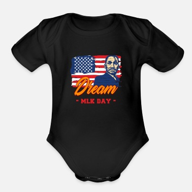 Mlk Dream MLK - Organic Short-Sleeved Baby Bodysuit