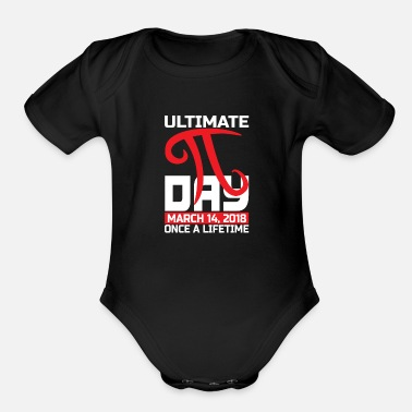 Geometry Ultimate Pi Day 3.14 Funny Math Science - Organic Short-Sleeved Baby Bodysuit