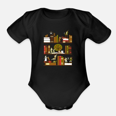Novel A Novel Idea - Organic Short Sleeve Baby Bodysuit
