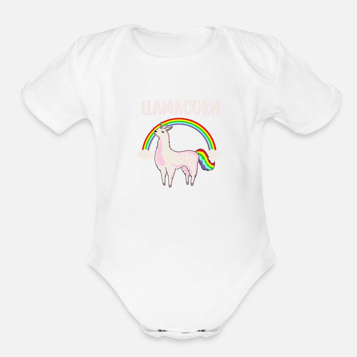 Toddler Unicorn Llama = Llamacorn Funny Gift Onesies Bodysuits