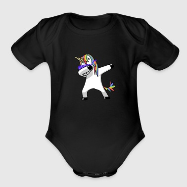 rap - Organic Short Sleeve Baby Bodysuit
