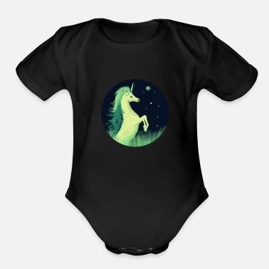 Magic Unicorn - Organic Short Sleeve Baby Bodysuit