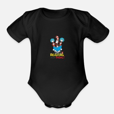 Dr. Seuss Thing - Organic Short-Sleeved Baby Bodysuit