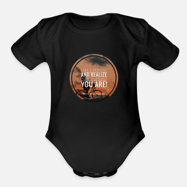 Bless You blessed you - Organic Short Sleeve Baby Bodysuit