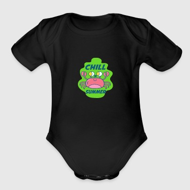 summer - Chill Summer - Organic Short Sleeve Baby Bodysuit