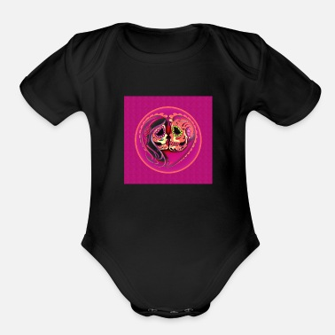 Windows Till They end of Times - Organic Short-Sleeved Baby Bodysuit