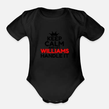 Williams WILLIAMS - Organic Short-Sleeved Baby Bodysuit