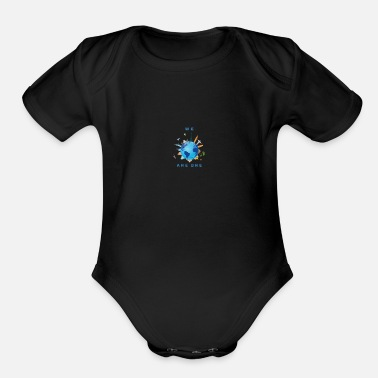 We Are One WE ARE ONE - Organic Short-Sleeved Baby Bodysuit