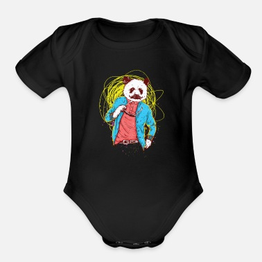 Stylish stylish - Organic Short-Sleeved Baby Bodysuit