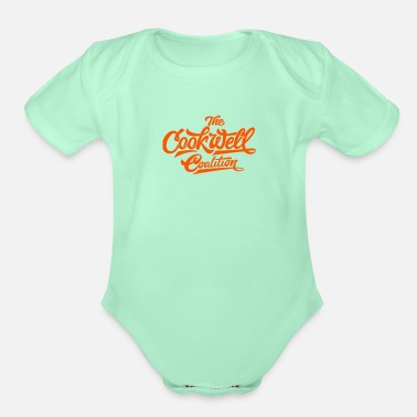 Fast THE COOKWELL COALITION - Organic Short-Sleeved Baby Bodysuit
