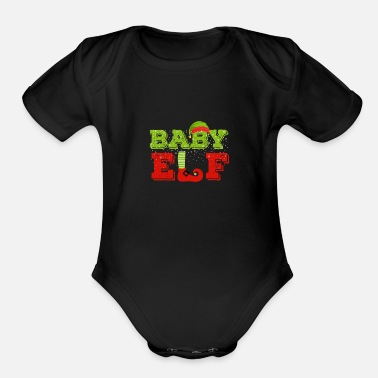 Baby Elf Baby Elf - Organic Short-Sleeved Baby Bodysuit