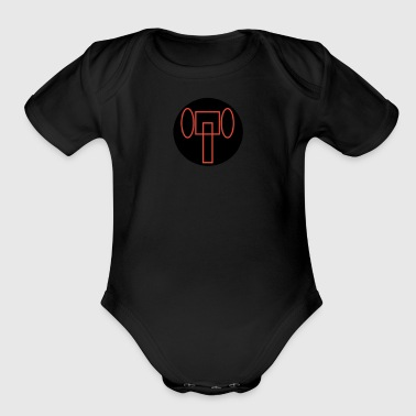 LOGO PRODUCT - Organic Short Sleeve Baby Bodysuit