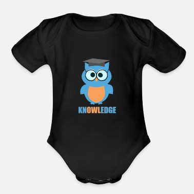Knowledge Knowledge - Organic Short-Sleeved Baby Bodysuit