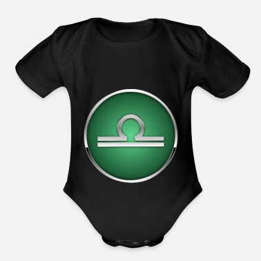 Zodiac Sign of Zodiac 3.4 - Organic Short-Sleeved Baby Bodysuit