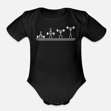 Crossfit The Snatch - Organic Short-Sleeved Baby Bodysuit