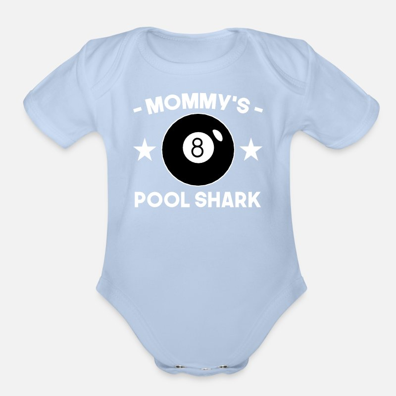 539bb5e7ae39 Mommy s Pool Shark Organic Short-Sleeved Baby Bodysuit