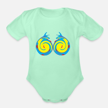 Graphic Art graphics art - Organic Short-Sleeved Baby Bodysuit