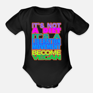 Movement A LIBERATION MOVEMENT - Organic Short Sleeve Baby Bodysuit