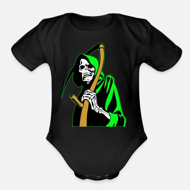Angel of Death - Organic Short-Sleeved Baby Bodysuit