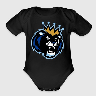 Lion - Organic Short Sleeve Baby Bodysuit