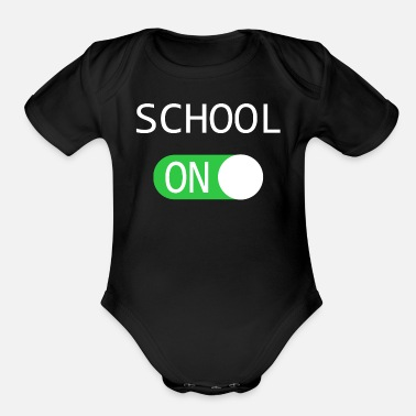 Staff School ON - Organic Short-Sleeved Baby Bodysuit