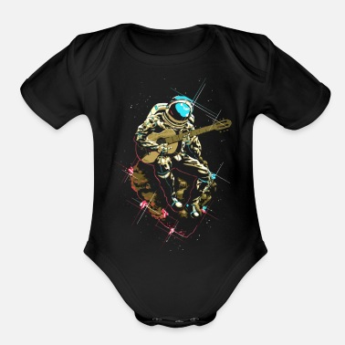 Lonely Lonely Man - Organic Short-Sleeved Baby Bodysuit