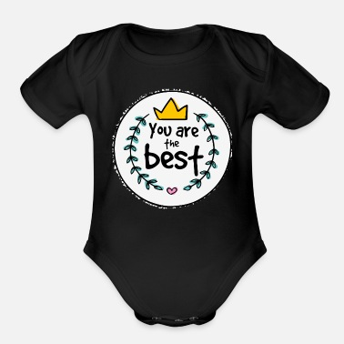 Mothers Day Mother's Day - Organic Short-Sleeved Baby Bodysuit